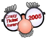 parking ticket award 2005