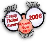 Crazy parking ticket award 2006